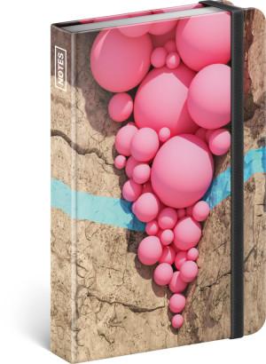 Notes Filip Hodas, linajkovaný, 11 × 16 cm