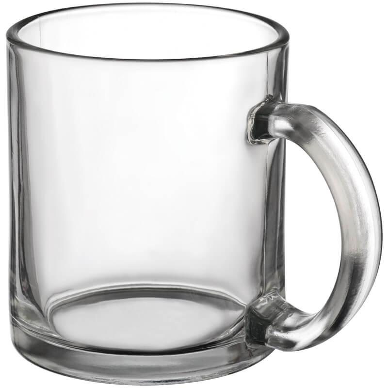 Hrnček na kávu zo skla