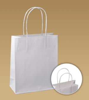 obrazok Tašky s krúteným uchom z hladkého papiera - Reklamnepredmety