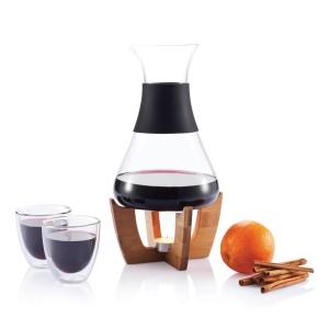 obrazok Glu mulled wine set with glasses sada na varené víno s 2 pohármi - Reklamnepredmety