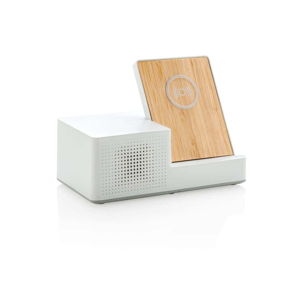 Ontario 5W wireless charger with speaker bezdrôtová nabíjačka s reproduktorom