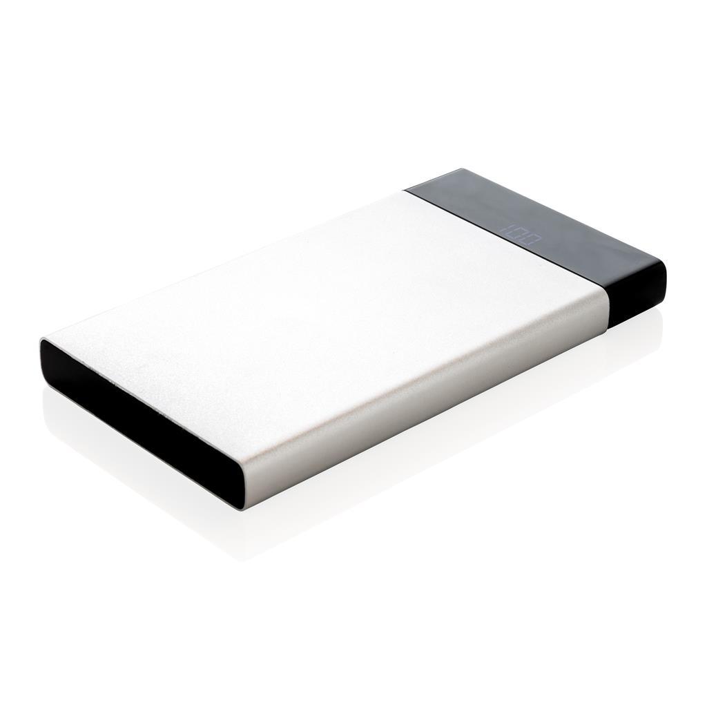 6.000 mAh flat powerbank digital display  powerbanka s digitálnym displejom
