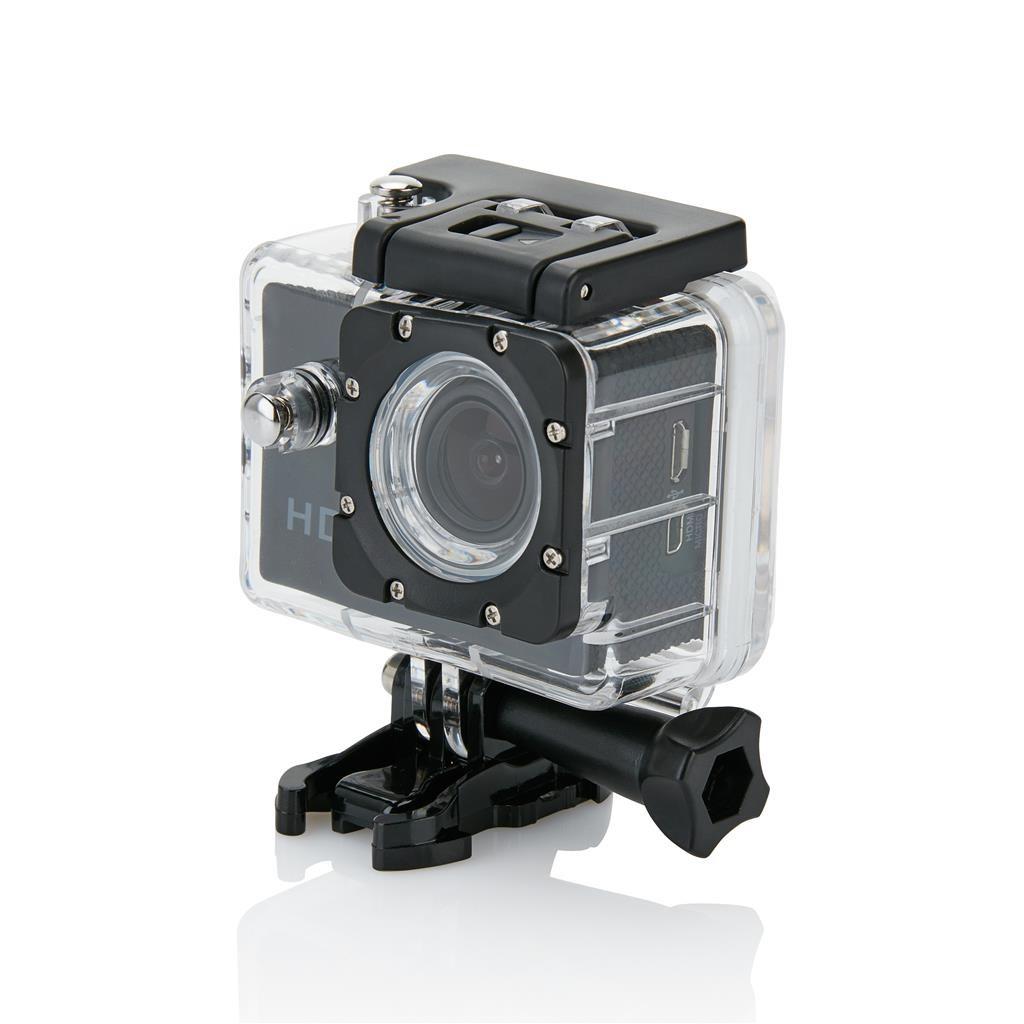 Akčná kamera s11dielnym príslušenstvom