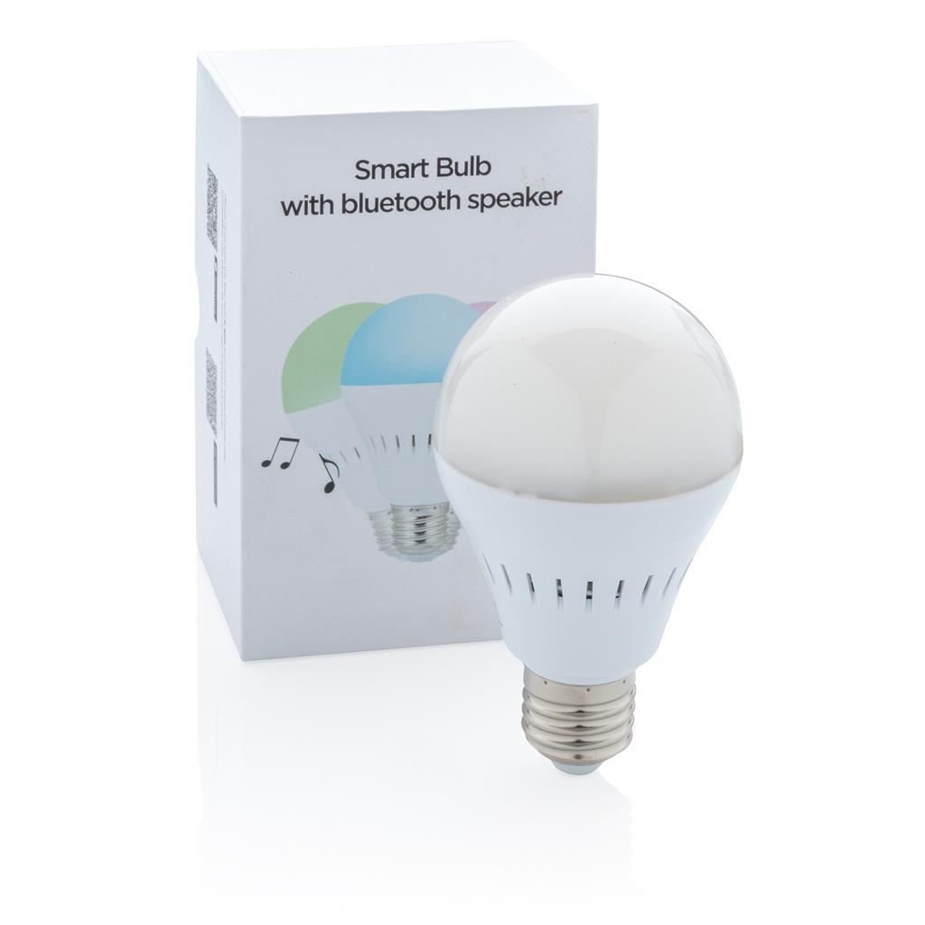 Inteligentná žiarovka sbezdrôtovým reproduktorom