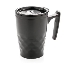 obrazok hrnček na kávu sgeometrickým vzorom - Reklamnepredmety