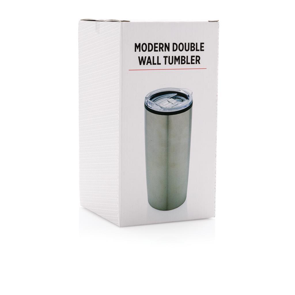 Moderný termohrnček s dvojitou stenou