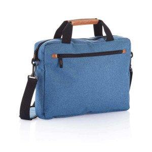 Módna dvojtónová taška na notebook