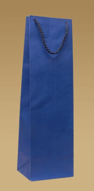 Ekologické papierové tašky na víno s textilným uchom