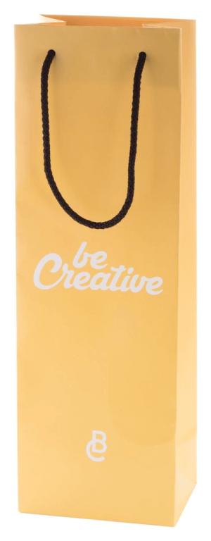 CreaShop W papierová taška na víno na zákazku