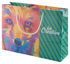 CreaShop H horizontálna papierová nákupná taška na zákazku