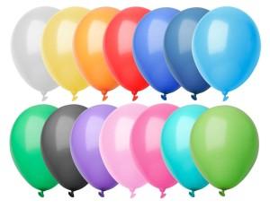 CreaBalloon balóniky v pastelových farbách
