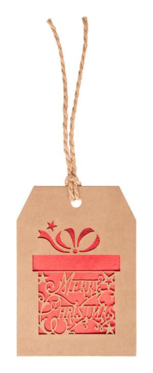 Goslak vianočná kartička