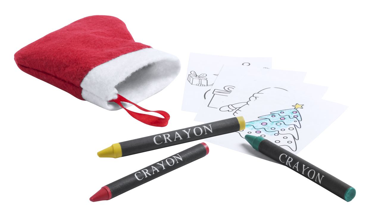 Princox vianočné omaľovánky