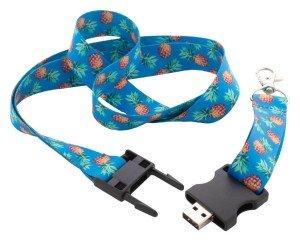 Subyard USB lanyard s 8 GB USB flash diskom