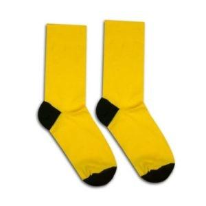 obrazok Ponožky Basic žlté - Reklamnepredmety