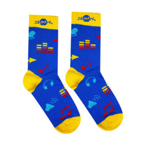 Ponožky farebné hudobné