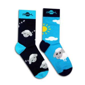 Ponožky farebné s ovečkou
