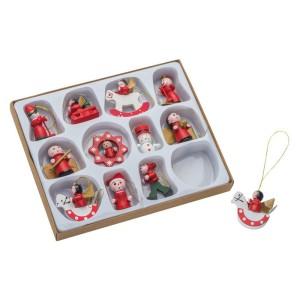 obrazok Vianočné ozdoby 12 ks - Reklamnepredmety