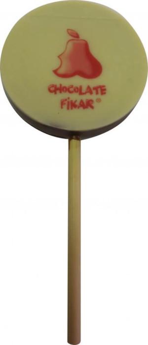 obrazok Lízatko s jedlou potlačou – kruh - Reklamnepredmety