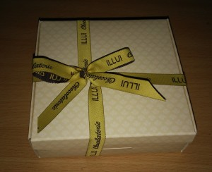 obrazok Pralinky v zlatej krabičke, 4 kusy - Reklamnepredmety