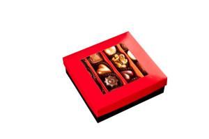 obrazok Pralinky v krabičke so stuhou, 16 kusov - Reklamnepredmety