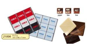 obrazok Čokoládová sada 9x5g - Reklamnepredmety