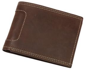 obrazok Peňaženka z pravej kože WILD STYLE - Reklamnepredmety