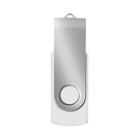 Jednotka USB (16 GB), červená / strieborná