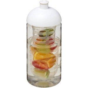 Športová fľaša s infuzérem a kupolovitým viečkom H2O Bop® 500 ml