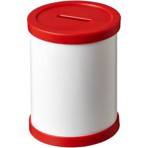 Okrúhly kartónový hrnček na perá s plastovou obrubou Deva