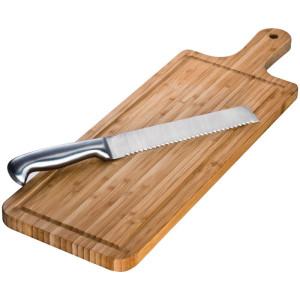 obrazok Bambusová doštička s nožom - Reklamnepredmety