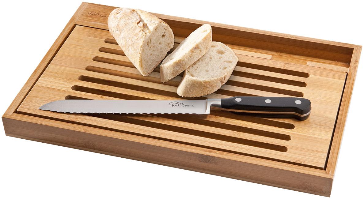 Doska na krájanie Bistro s nožom na chlieb - Reklamnepredmety