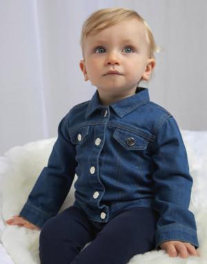 Džínsová bunda pre bábätká Baby Rocks