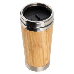Termohrnček s bambusovým povrchom