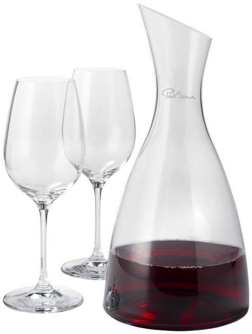 Dekanter s 2 pohármi na víno Prestige