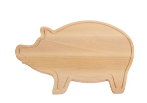 obrazok Doska na krájanie WOODEN PIGGY - Reklamnepredmety