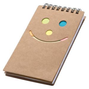obrazok Poznámkový blok Smile - Reklamnepredmety