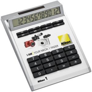obrazok Neutrálna biela dostička pre kalkulačky 33419 - Reklamnepredmety