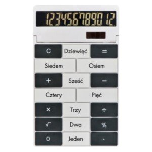 Kalkulačka s vlastným dizajnom