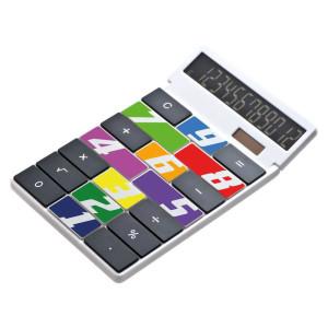 obrazok Kalkulačka s vlastným dizajnom plastová - Reklamnepredmety