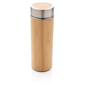 Bambusová nepriepustná termo fľaša