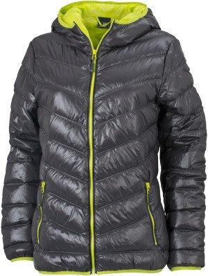 Dámska bunda s kapucňou