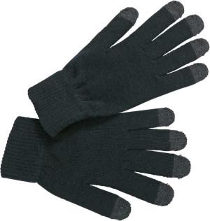 Pletené rukavice pre dotykové displeje