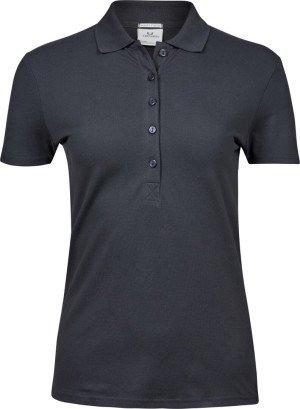 Dámske luxusné elastické polo tričko