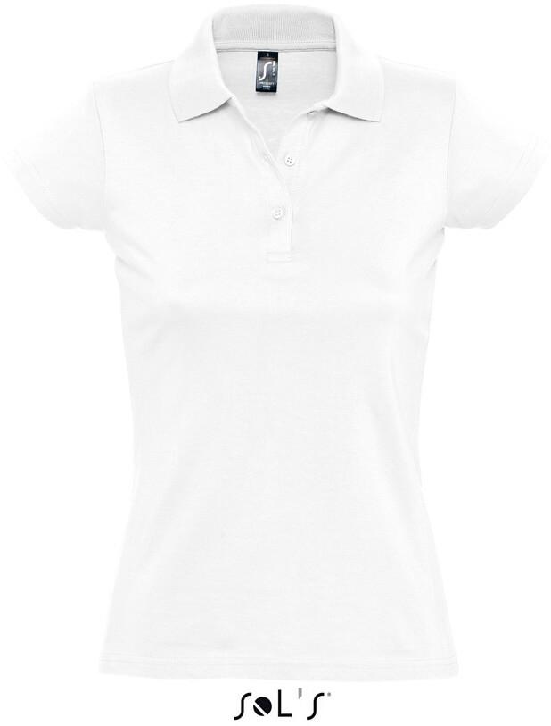 Dámske žerzejové polo tričko