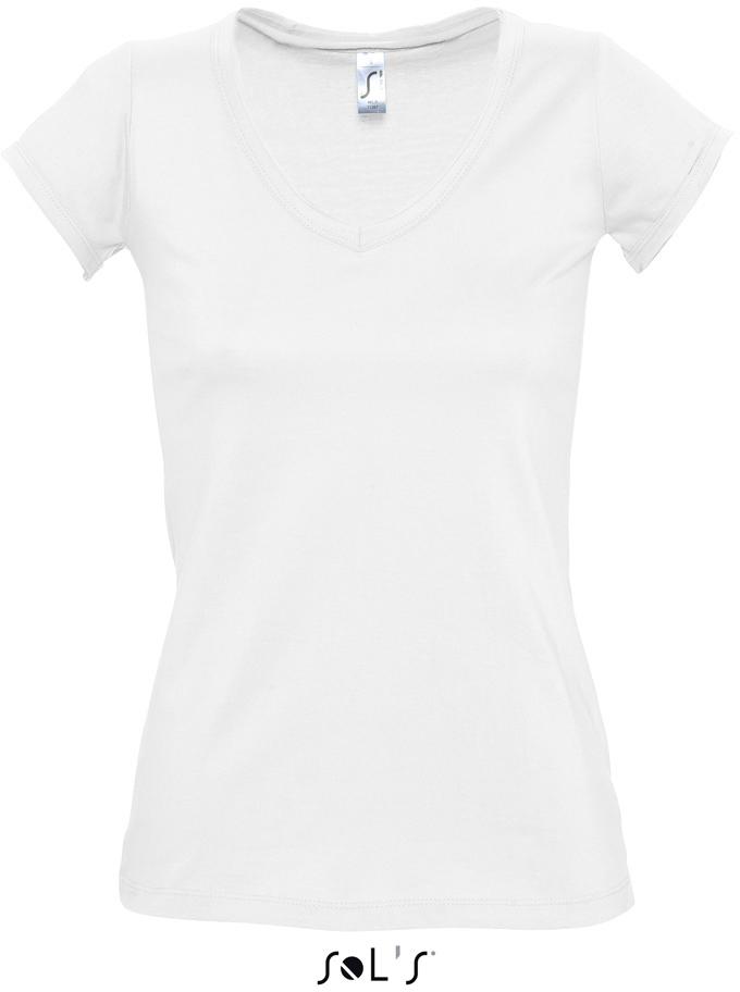"Mild Dámske tričko s výstrihom do ""v"""