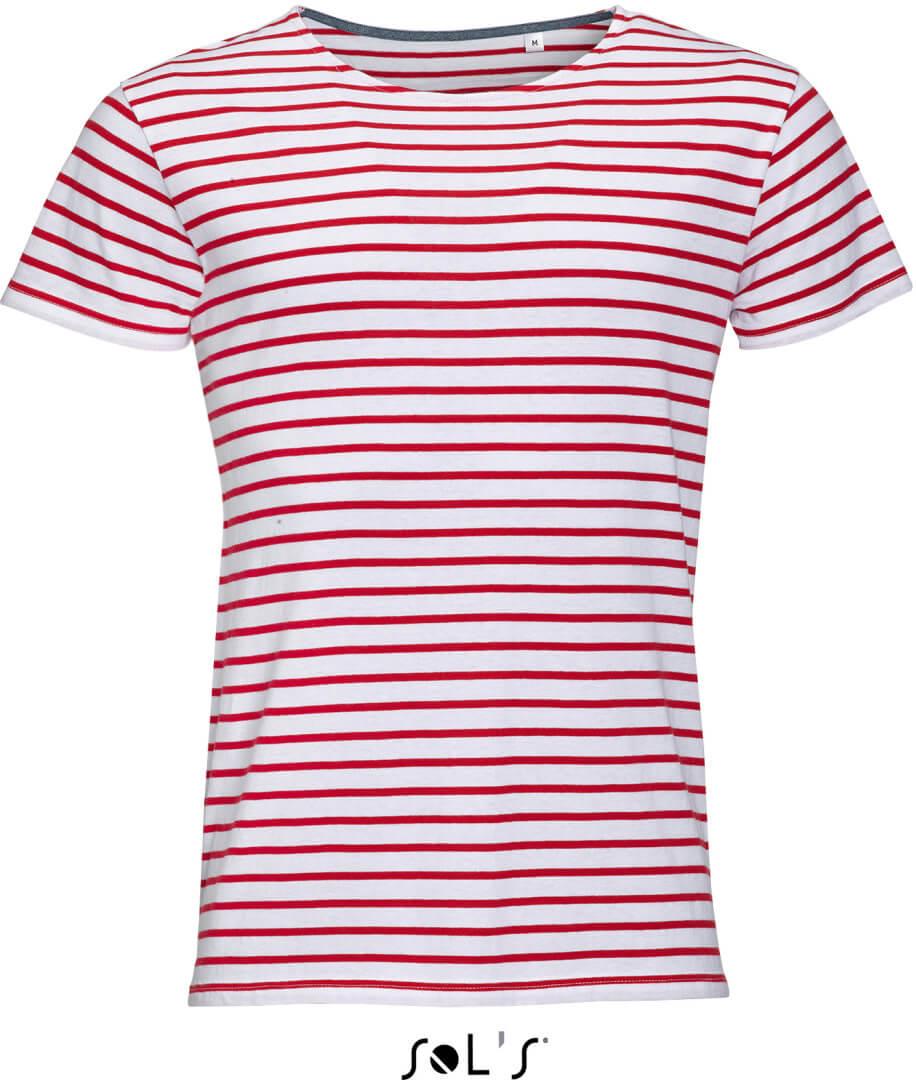 Miles Men Pánske pruhované tričko