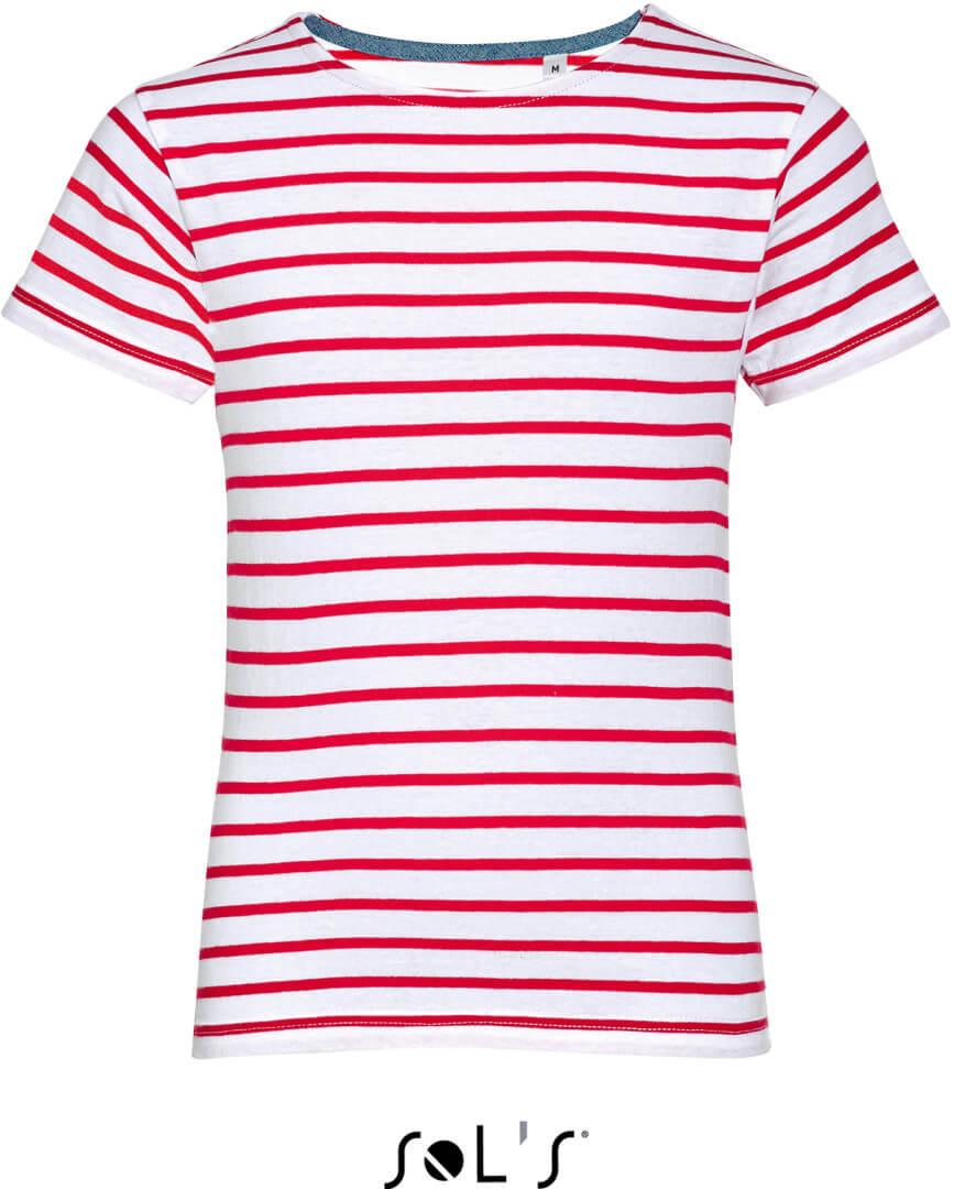 Miles Kids Detské pruhované tričko