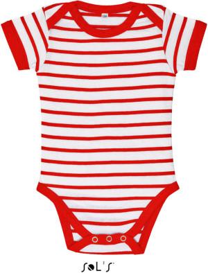 Miles Baby Detské pruhované body