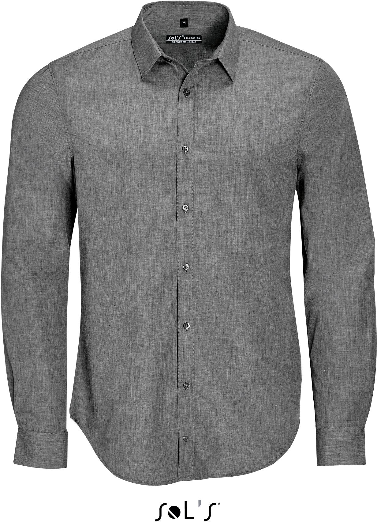 Barnet Men Pánska popelínová košeľa